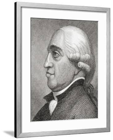 General John Burgoyne--Framed Giclee Print