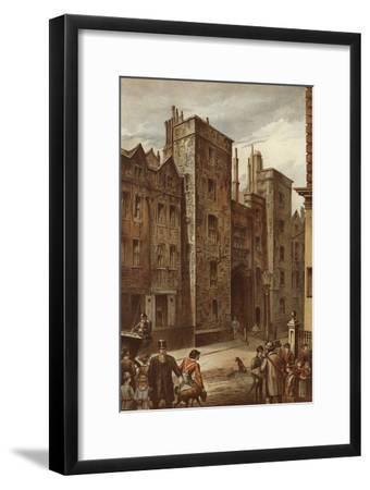 Tudor Gateway, Lincoln's Inn, Chancery Lane-Waldo Sargeant-Framed Giclee Print
