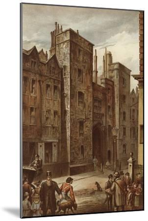 Tudor Gateway, Lincoln's Inn, Chancery Lane-Waldo Sargeant-Mounted Giclee Print