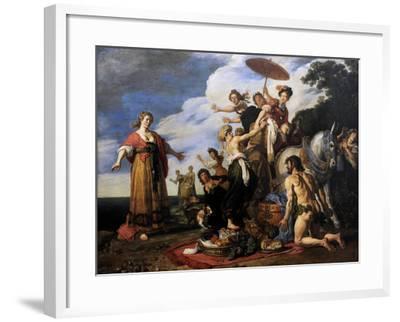 Ulysses before Nausicaa, 1619-Pieter Lastman-Framed Giclee Print