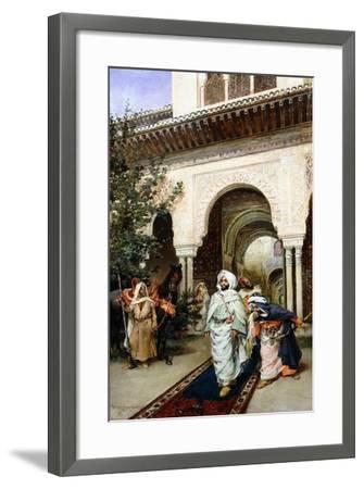 Leaving the Alhambra, 1887-Harry Humphrey Moore-Framed Giclee Print