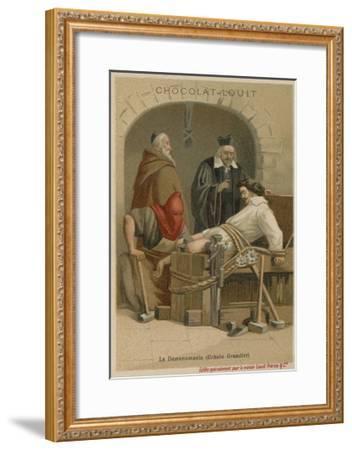 Torture of Urbain Grandier--Framed Giclee Print