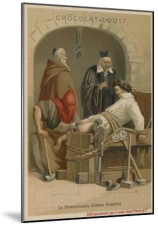 Torture of Urbain Grandier--Mounted Giclee Print