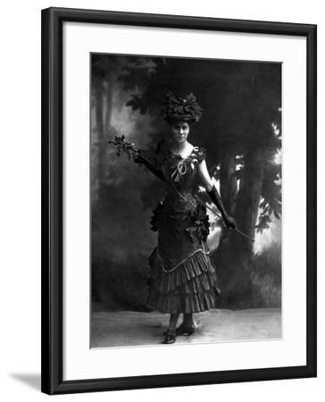 Portrait of an Actress--Framed Photographic Print