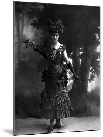 Portrait of an Actress--Mounted Photographic Print