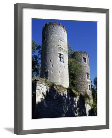 Towers of Cinq-Mars Castle--Framed Giclee Print