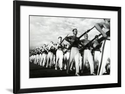 Parade of the Young Communists, Moscow--Framed Photographic Print