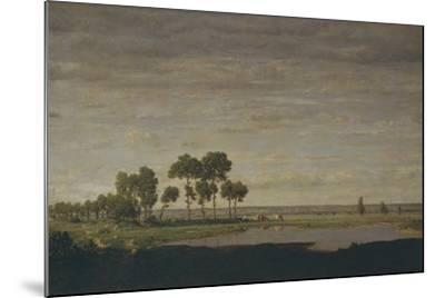Spring, Pond, 1852-Th?odore Rousseau-Mounted Giclee Print