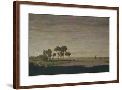 Spring, Pond, 1852-Th?odore Rousseau-Framed Giclee Print