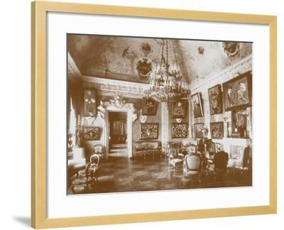 Pink Dining Room, known as the Matisse Room, 1913--Framed Photographic Print