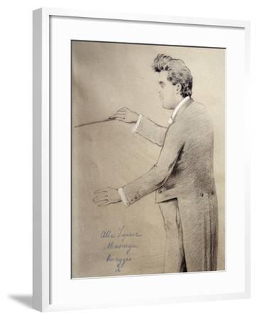 Pietro Mascagni--Framed Giclee Print