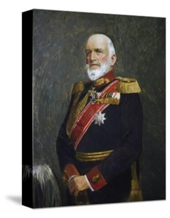 Portrait of Josias Von Heeringen--Stretched Canvas Print