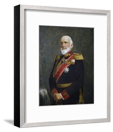 Portrait of Josias Von Heeringen--Framed Giclee Print