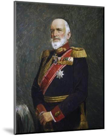 Portrait of Josias Von Heeringen--Mounted Giclee Print