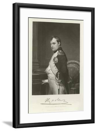 Napoleon-Hippolyte Delaroche-Framed Giclee Print