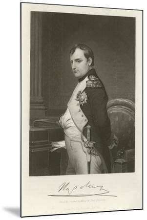 Napoleon-Hippolyte Delaroche-Mounted Giclee Print