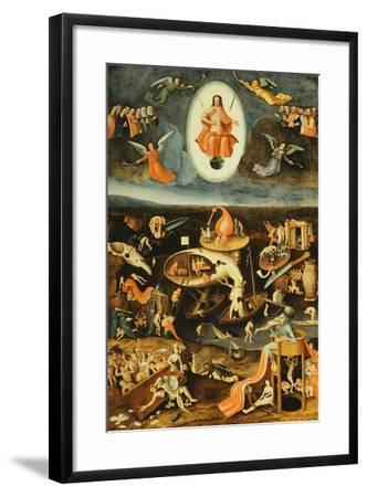 The Last Judgement-Hieronymus Bosch-Framed Giclee Print