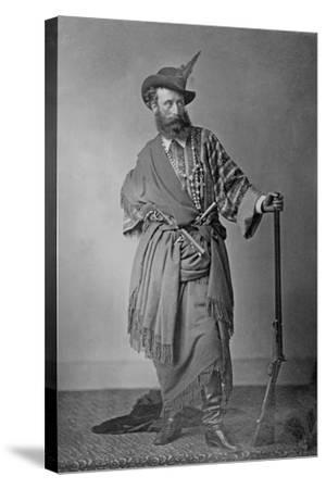 Lord Clonbrook in Theatrical Costume, C.1865-Augusta Crofton-Stretched Canvas Print