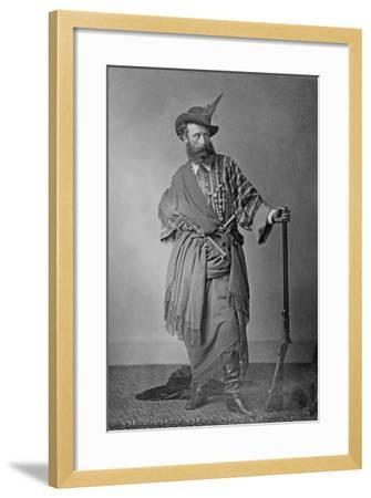 Lord Clonbrook in Theatrical Costume, C.1865-Augusta Crofton-Framed Giclee Print