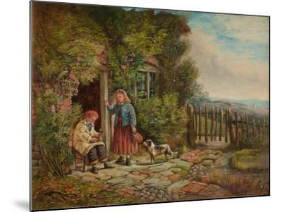 Cottagers-John H. Dell-Mounted Giclee Print