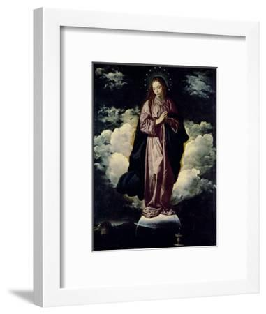The Immaculate Conception, C.1618-Diego Velazquez-Framed Giclee Print