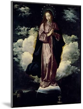 The Immaculate Conception, C.1618-Diego Velazquez-Mounted Giclee Print
