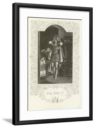 King Henry IV, Act IV, Scene IV-Joseph Kenny Meadows-Framed Giclee Print