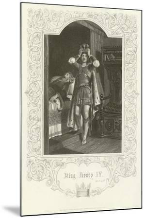 King Henry IV, Act IV, Scene IV-Joseph Kenny Meadows-Mounted Giclee Print