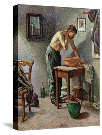 The Toilet, 1887-Maximilien Luce-Stretched Canvas Print