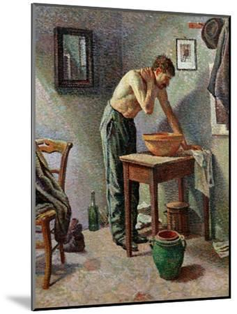 The Toilet, 1887-Maximilien Luce-Mounted Giclee Print