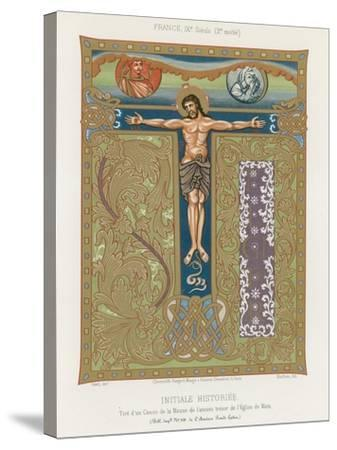 The Crucifixion of Jesus Christ--Stretched Canvas Print