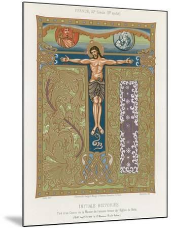 The Crucifixion of Jesus Christ--Mounted Giclee Print