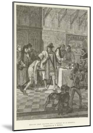 Sir John Chandos Took the Ring and Looked at It--Mounted Giclee Print