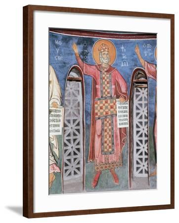 King David, 1192--Framed Giclee Print