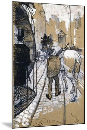 The Coach Driver of the Omnibus Company, 1888-Henri de Toulouse-Lautrec-Mounted Giclee Print