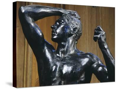 The Bronze Age, 1876-Auguste Rodin-Stretched Canvas Print