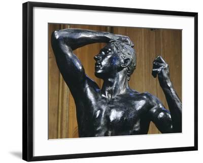 The Bronze Age, 1876-Auguste Rodin-Framed Giclee Print