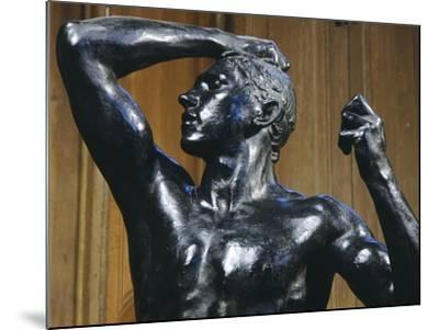 The Bronze Age, 1876-Auguste Rodin-Mounted Giclee Print