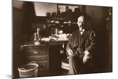 E.H. Harriman, 1901--Mounted Photographic Print