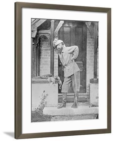 Huntsman with Dead Game, C.1865-Augusta Crofton-Framed Giclee Print