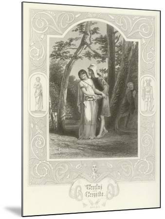 Troilus and Cressida, Act III, Scene II-Joseph Kenny Meadows-Mounted Giclee Print