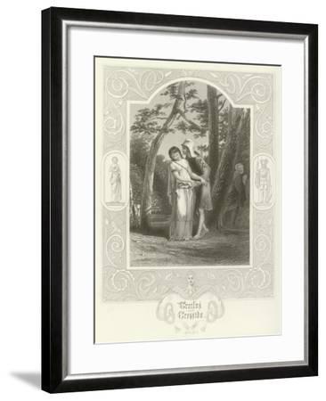 Troilus and Cressida, Act III, Scene II-Joseph Kenny Meadows-Framed Giclee Print