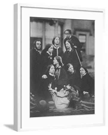 Group Portrait, C.1855-Otho Fitzgerald-Framed Giclee Print