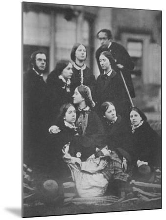 Group Portrait, C.1855-Otho Fitzgerald-Mounted Giclee Print