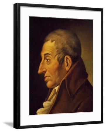 Portrait of Fedele Fenaroli--Framed Giclee Print