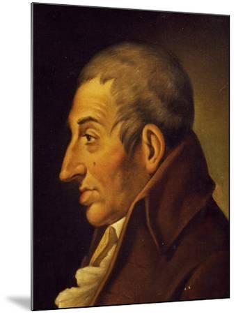 Portrait of Fedele Fenaroli--Mounted Giclee Print