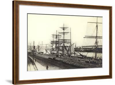Nantes, Harbour--Framed Photographic Print