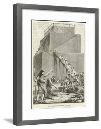 The Building of the Tower of Babel--Framed Giclee Print