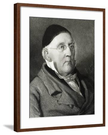 Portrait of Louis Ludwig Spohr--Framed Giclee Print