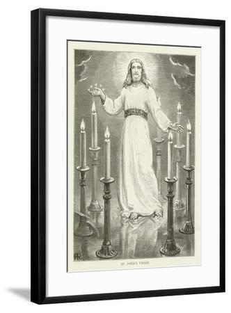 St John's Vision--Framed Giclee Print